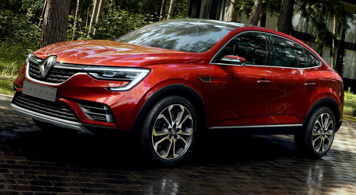 Découvrez le SUV Renault coupé Arkana